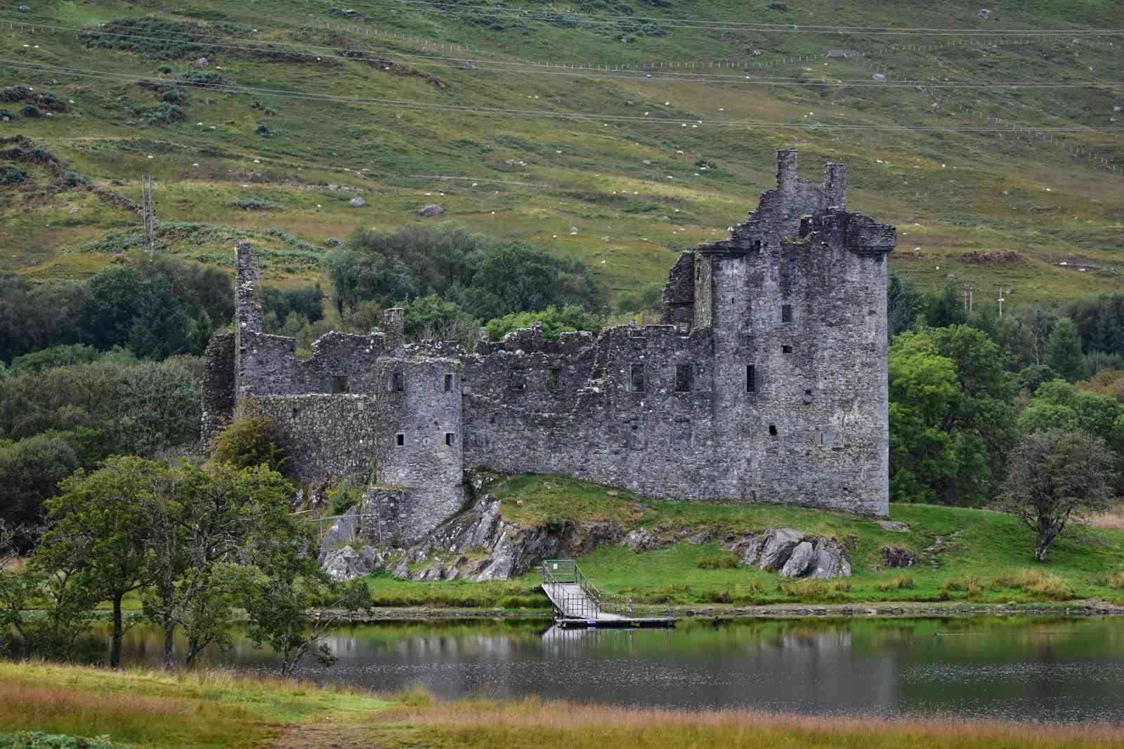 Castle Kilchurn in Scotland