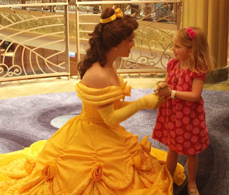 Meeting Characters on the Disney Fantasy