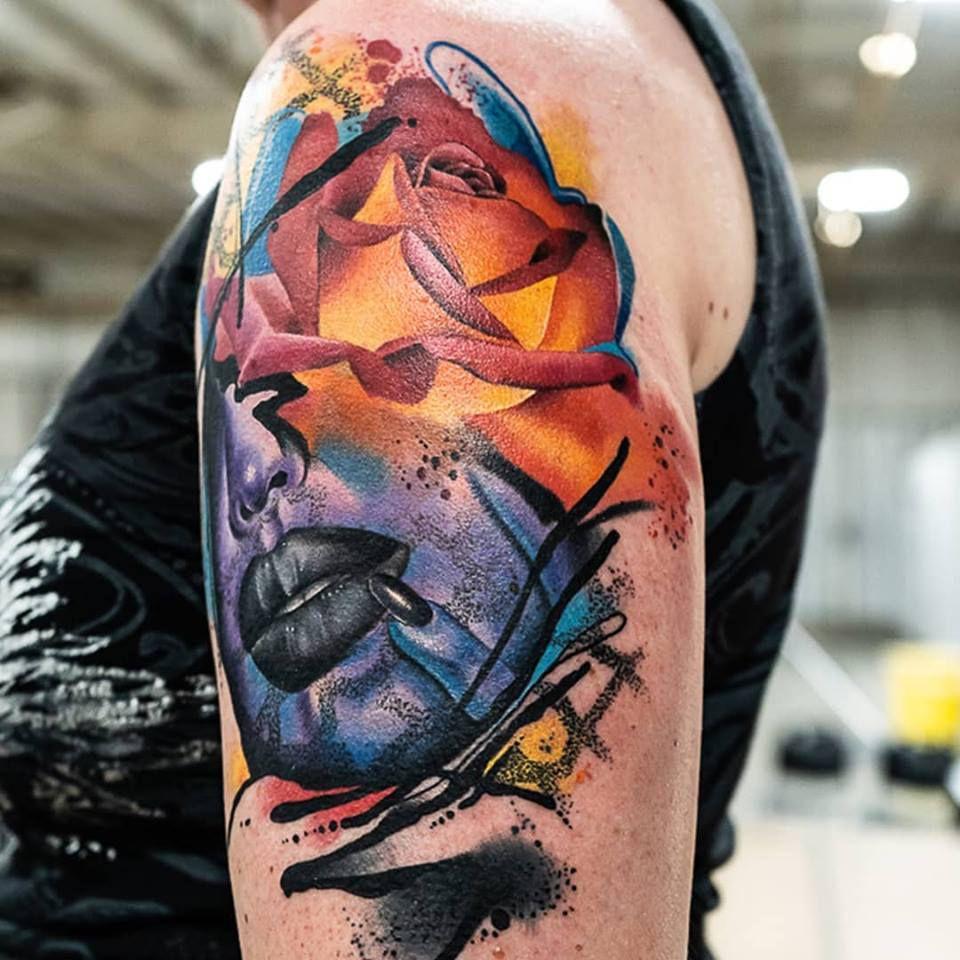 Best Of Day Winning Tattoo by derekscottart at the Body Art Expo in AZ
