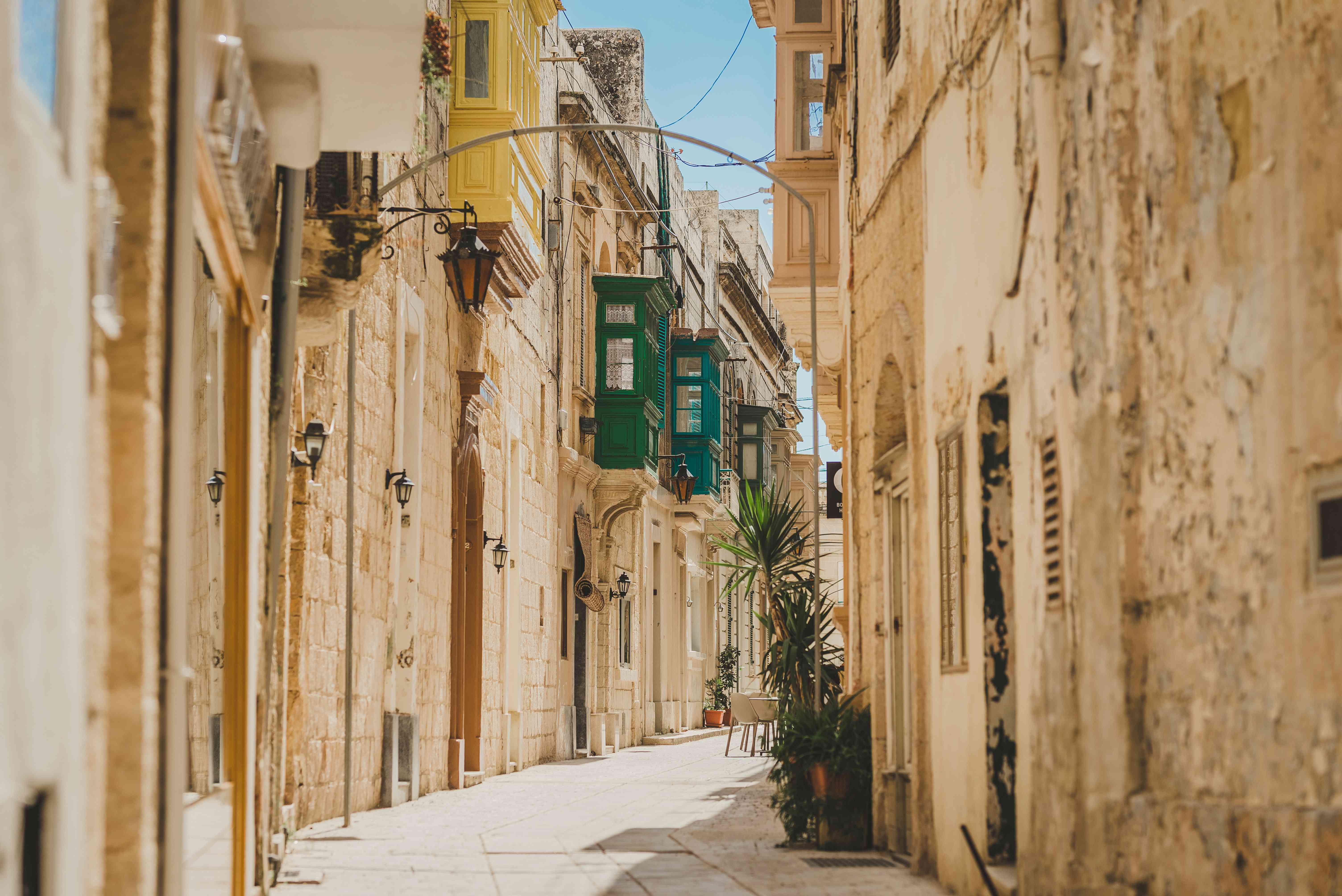 Alleyway in the Mdina