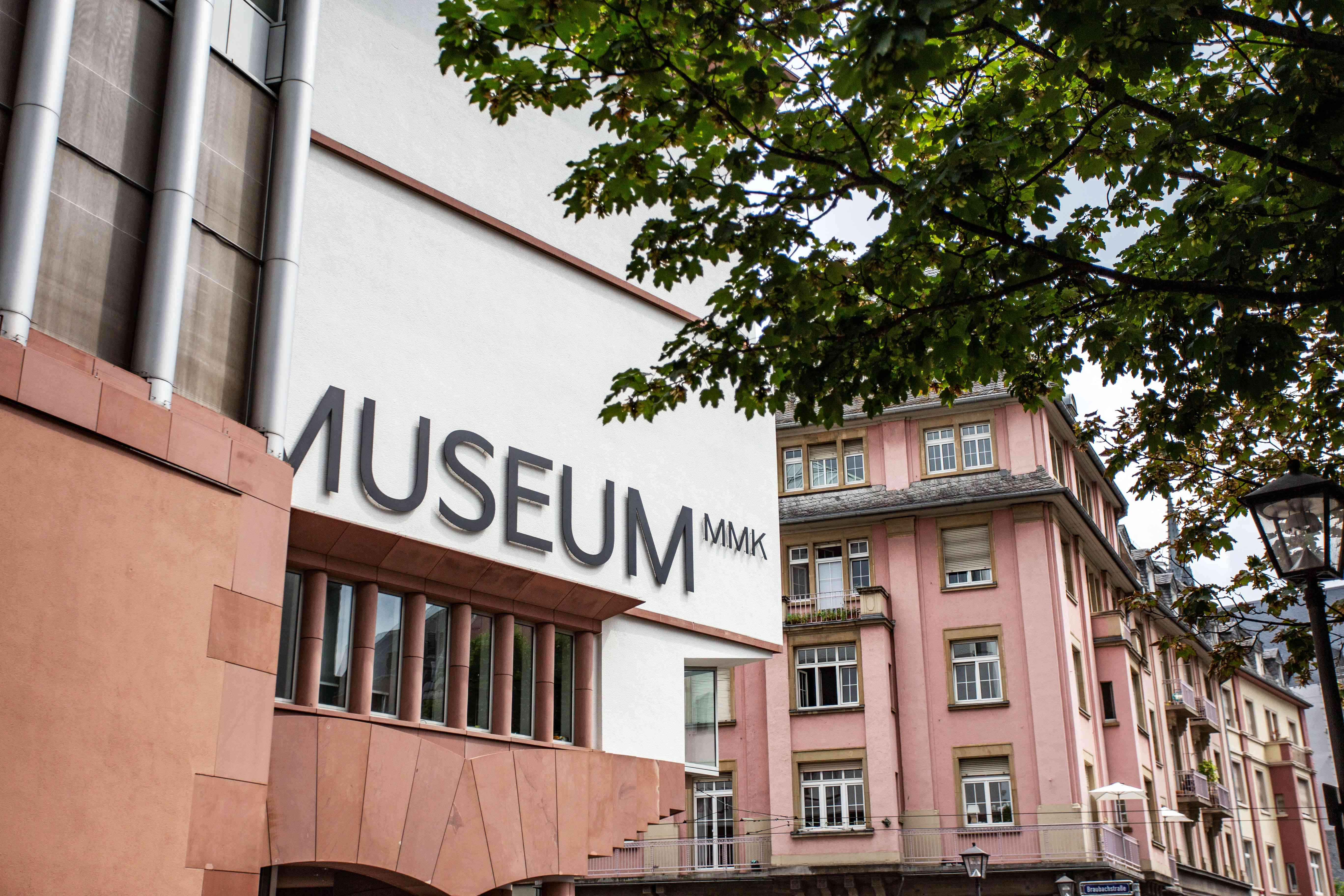 Exterior of Museum of Modern Art
