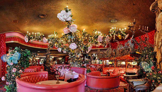 Inside the Madonna Inn