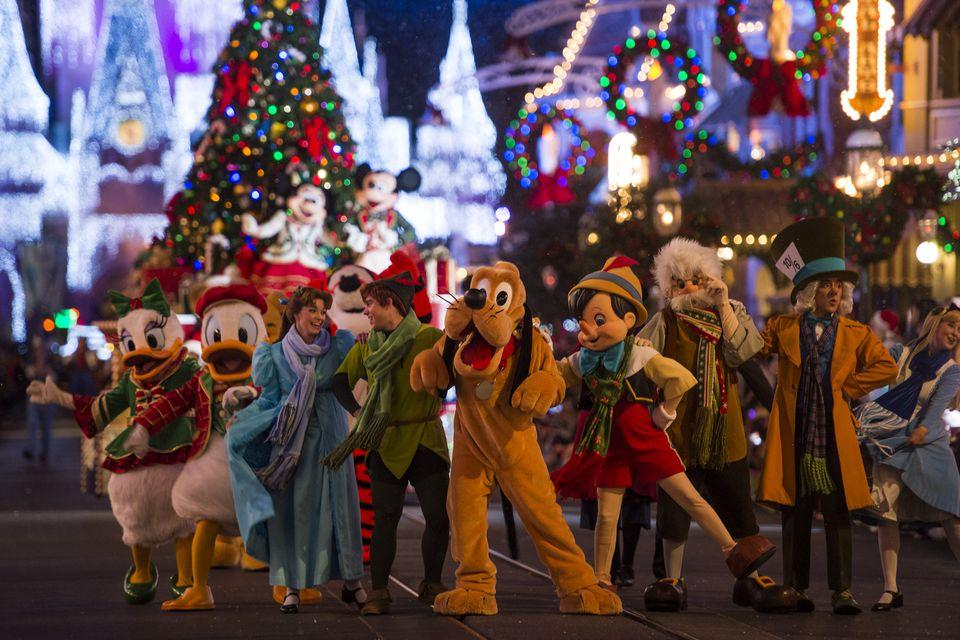 Holidays at Disney World