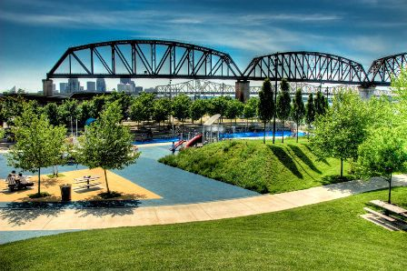 Waterfront Park en Louisville, KY