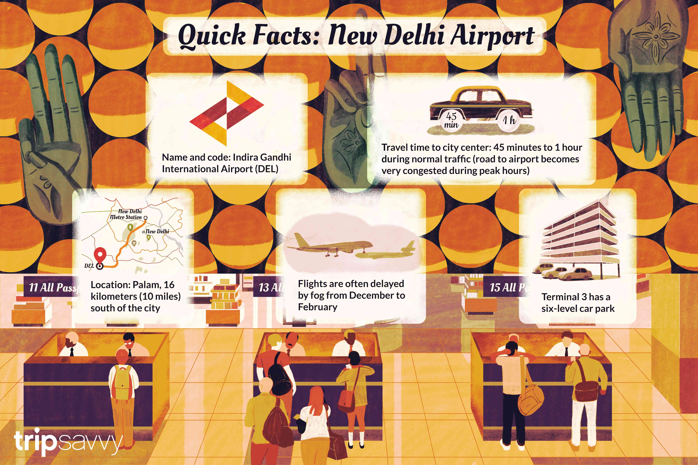 consejos sobre el aeropuerto de Nueva Delhi