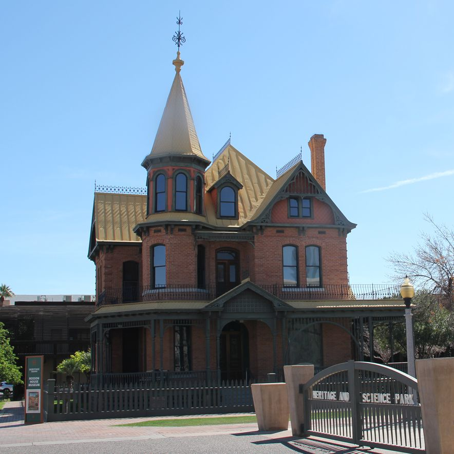 Rosson House at Heritage Square