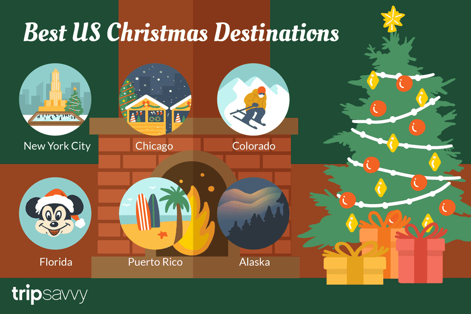 The 6 Best U.S. Destinations to Visit for Christmas