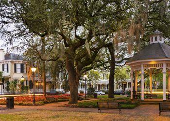 Historic District in Savannah, GA