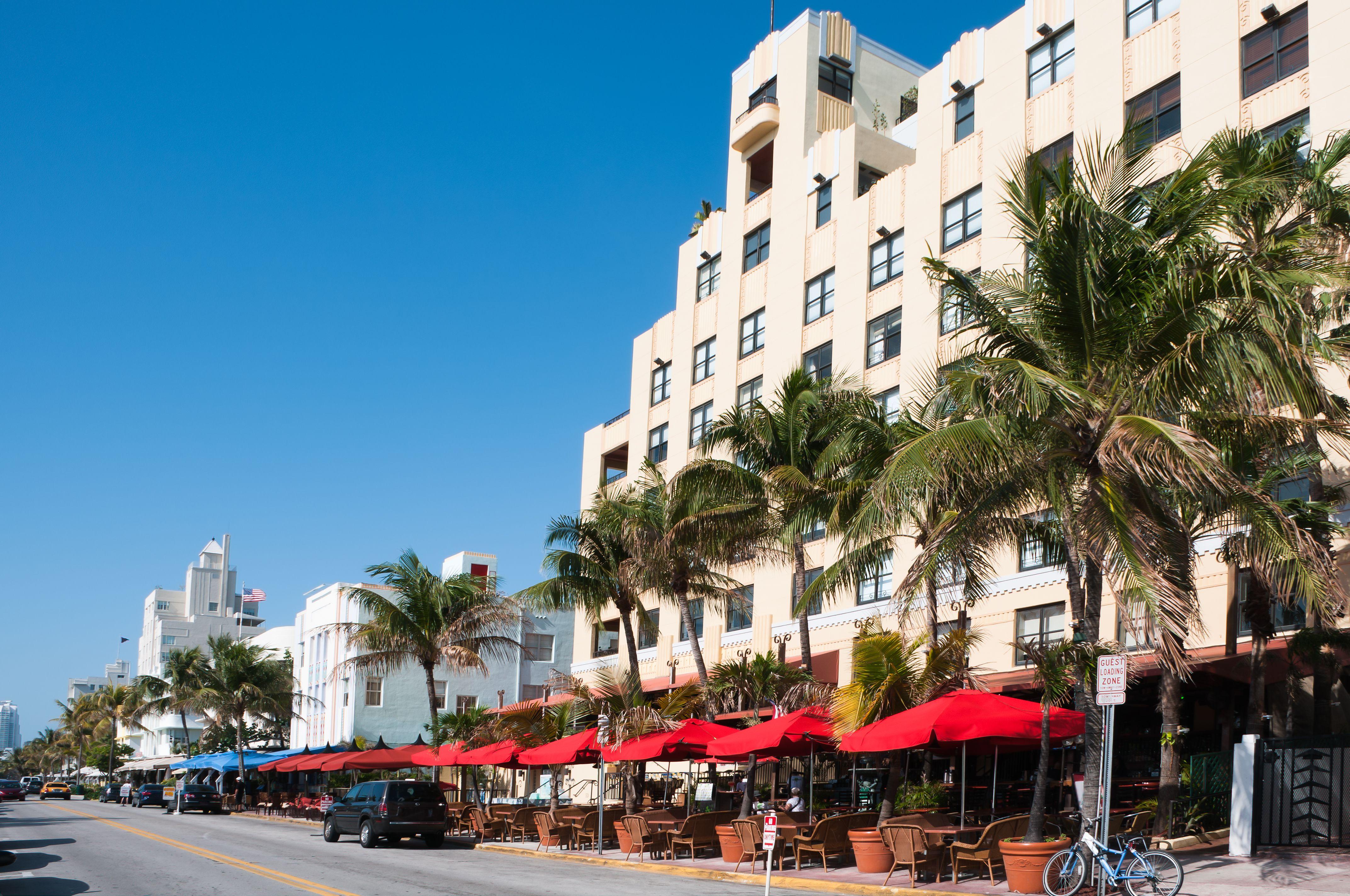 Cafe in Miami, Florida
