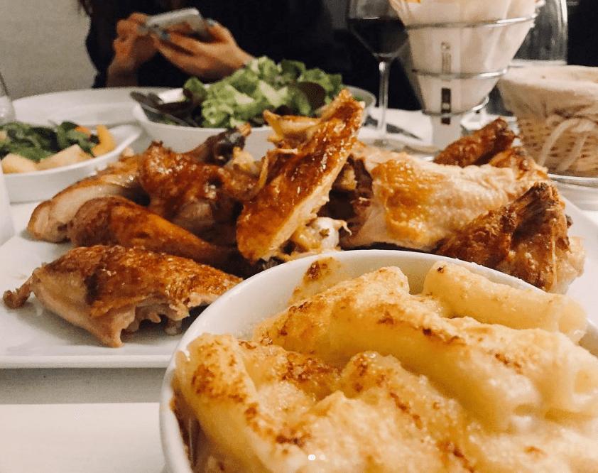Le Coq Rico, restaurante de París