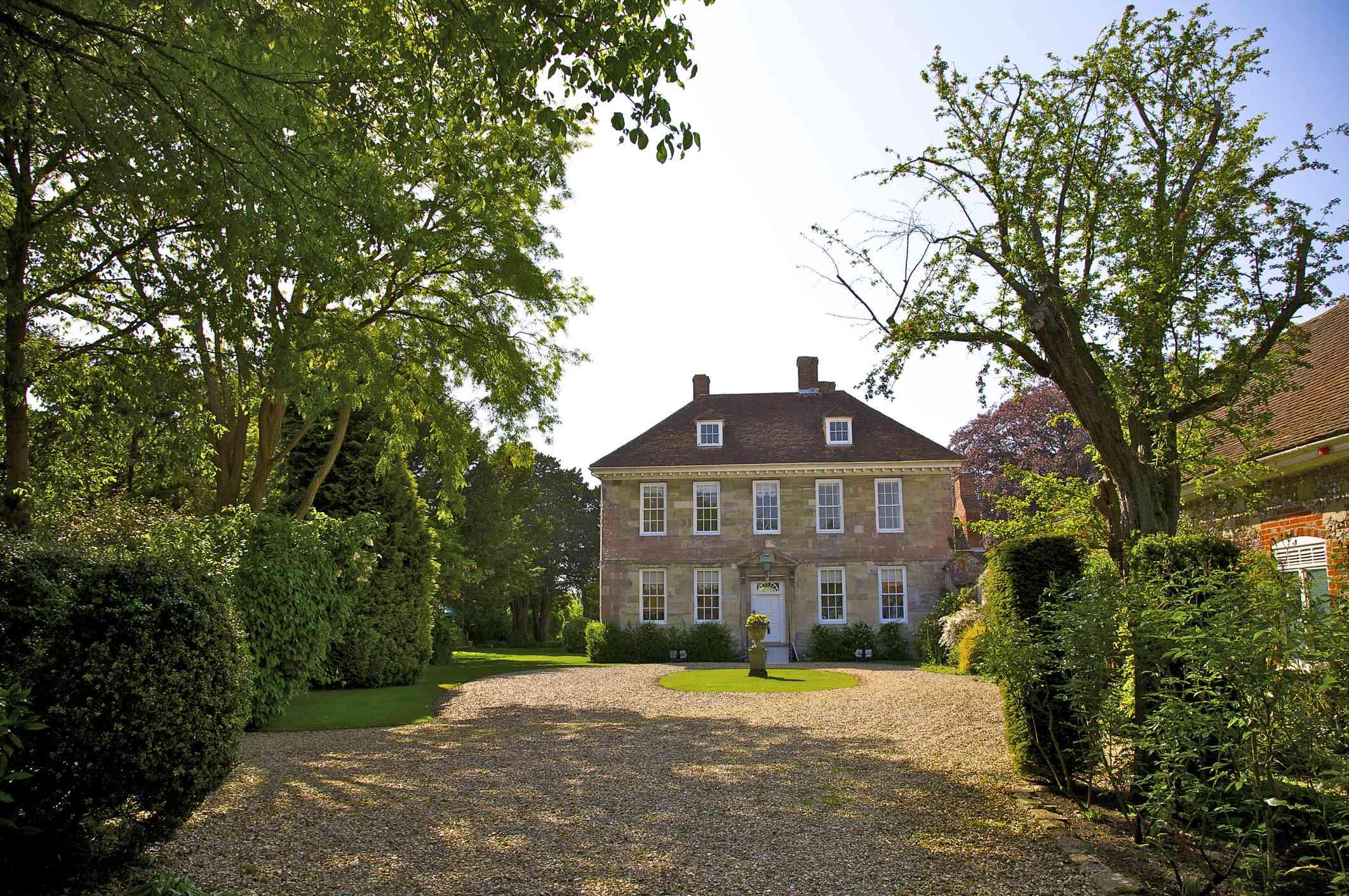 Arundells, Home of former prime minister Sir Edward Heath, Salisbury, United Kingdom