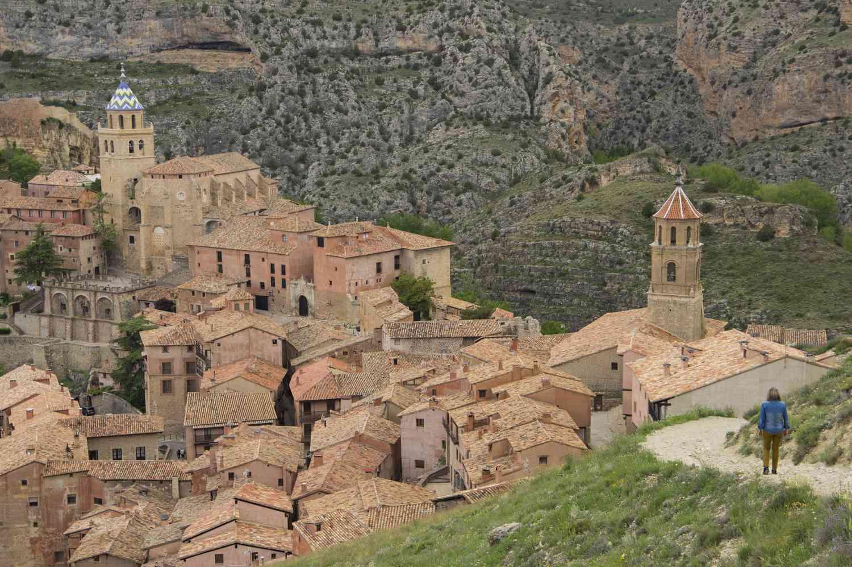 Town of Albarracín, Spain