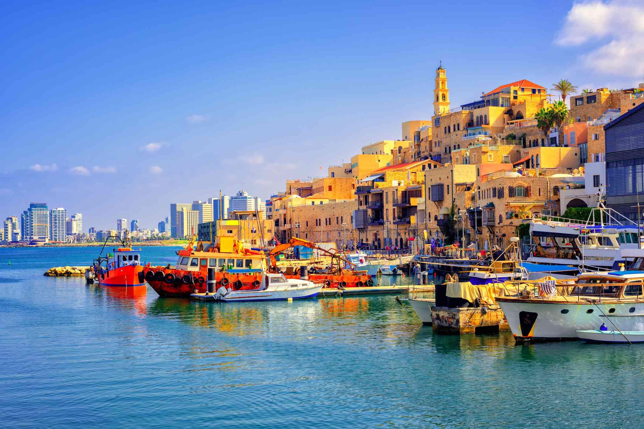 Jaffa Old Port