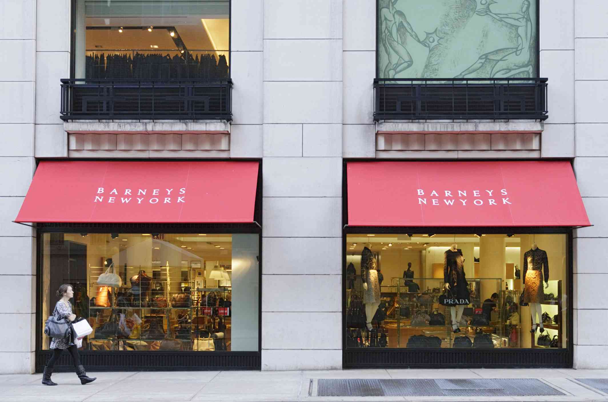 Shopping on Madison Avenue, Manhattan