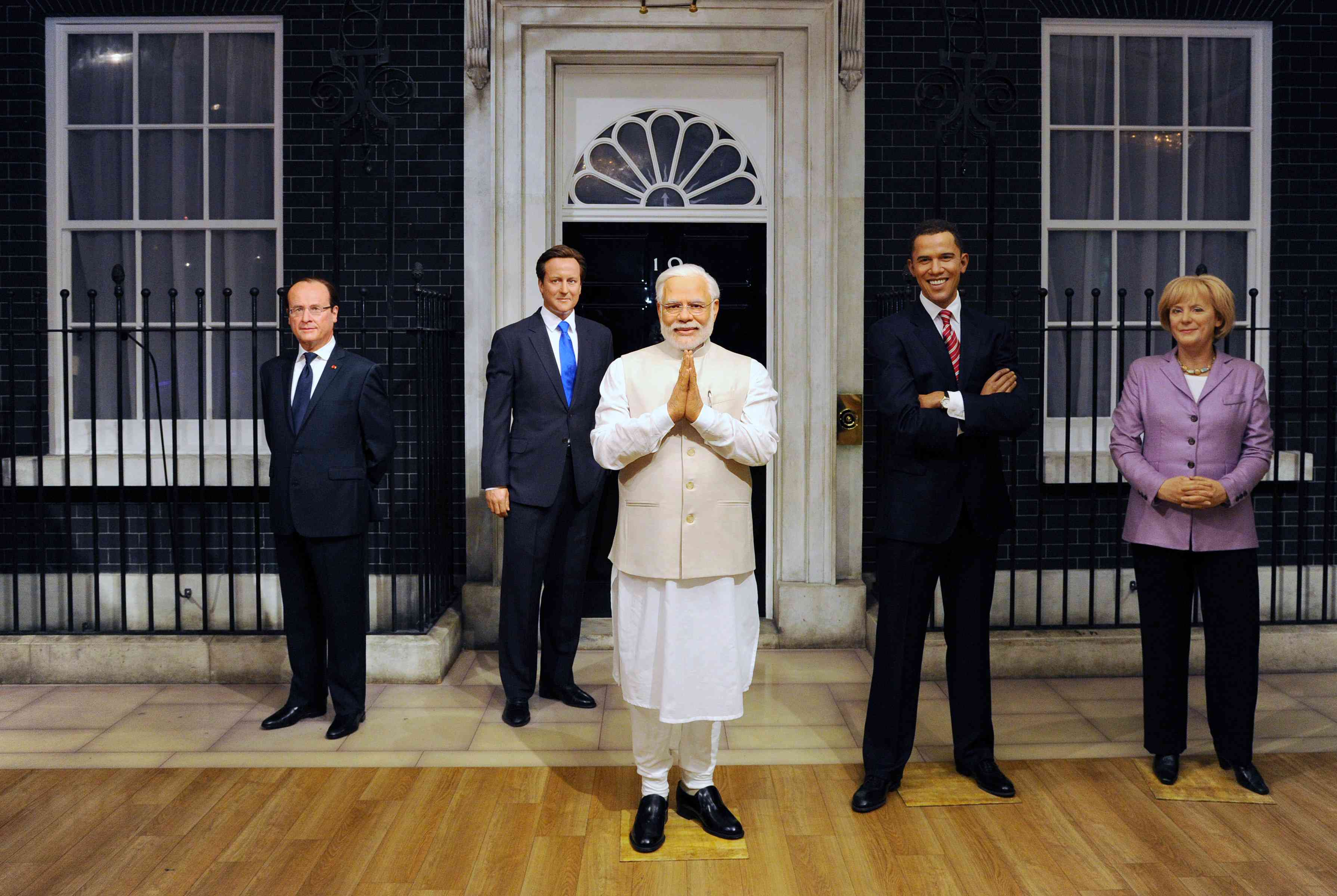 New Wax Figure Of Narendra Modi Joins World Leaders At Madame Tussauds