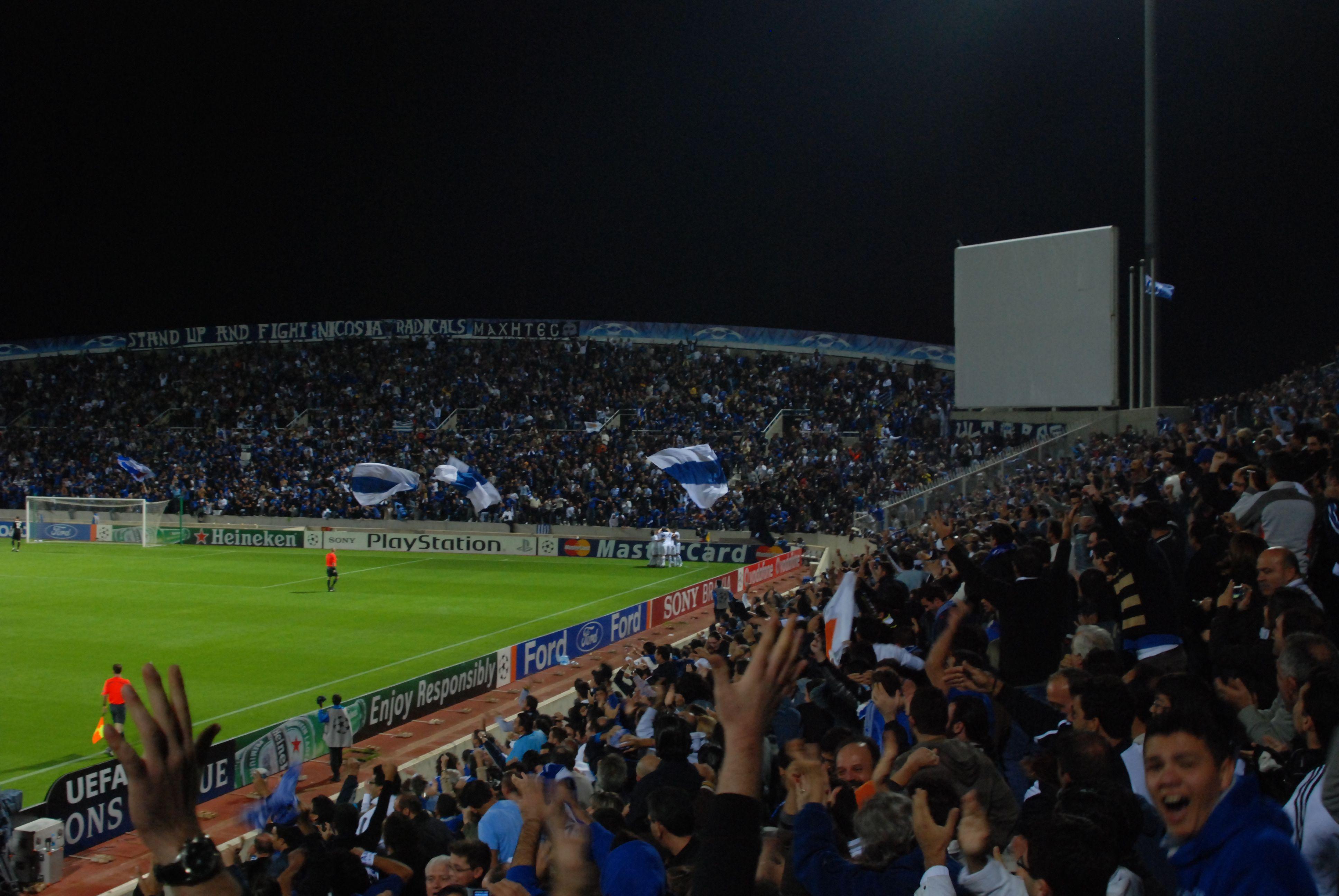 Inter-Milan match at San Siro