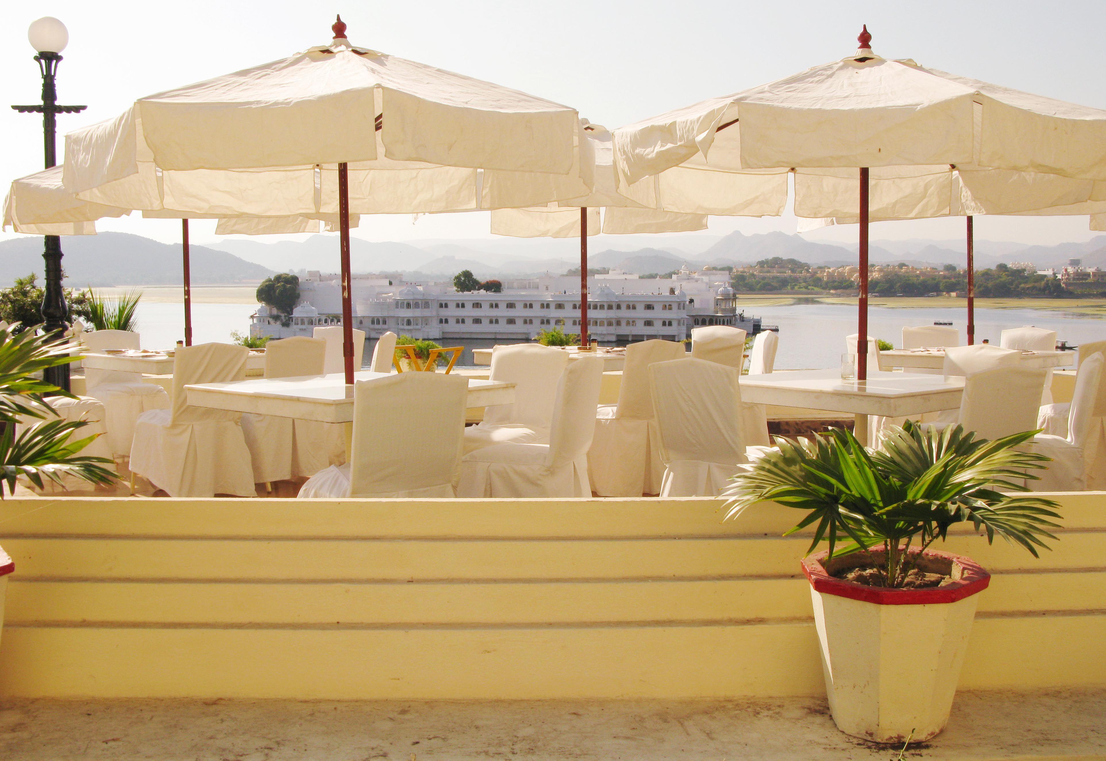 Fateh Prakash Palace Hotel Sunset Terrace