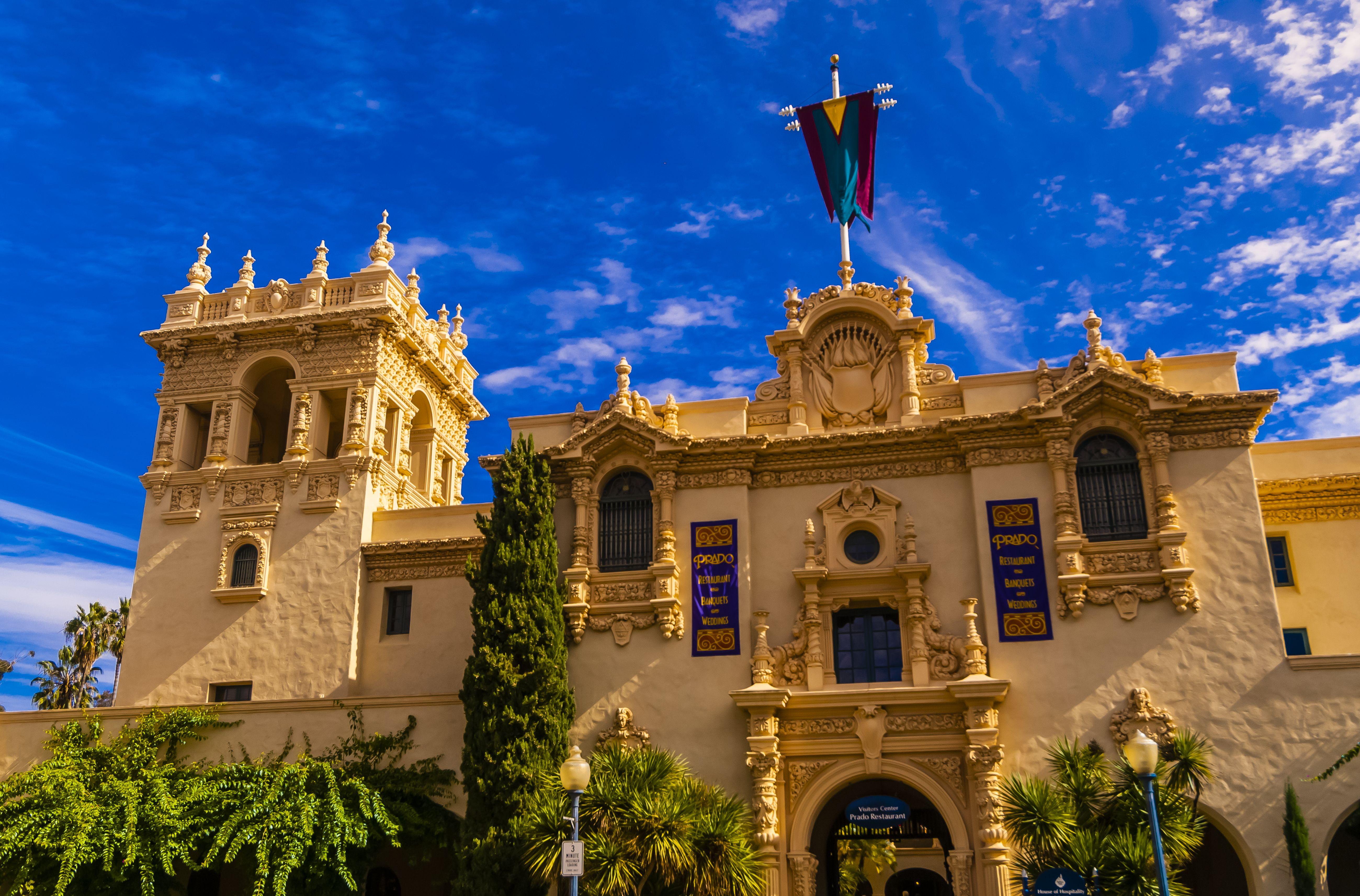 House of Hospitality, Balboa Park, San Diego, California USA.