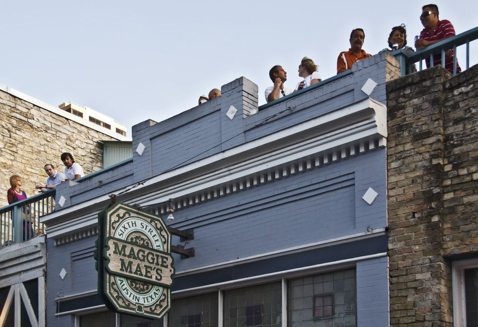 Maggie Mae's rooftop