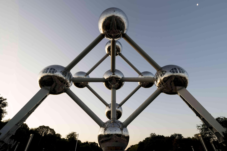 La estatua atominum gigante