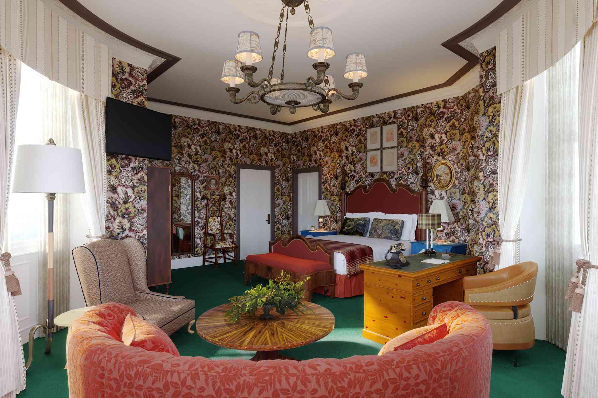 Marine North Burwick guest room