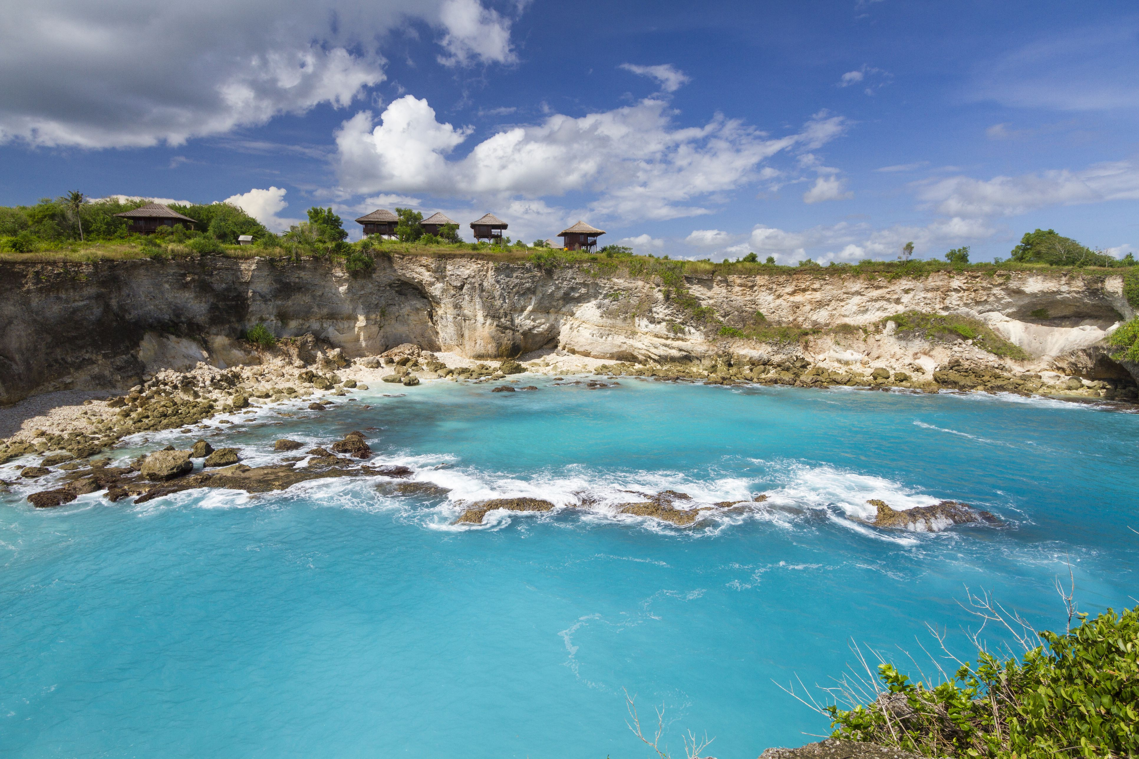 Indonesia, Bali, Nusa Ceningan, Blue lagoon