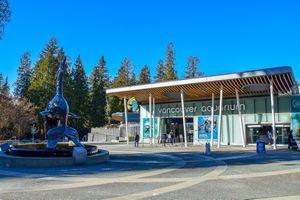 Exterior of Vancouver Aquarium