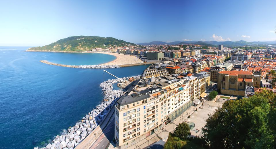 Panoramic view of San Sebastian