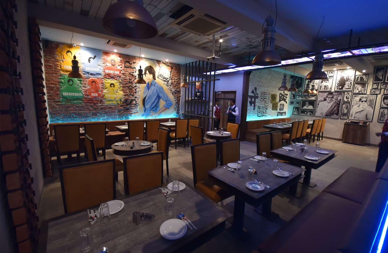 Dining room in shahanshah, Gorakhpur.