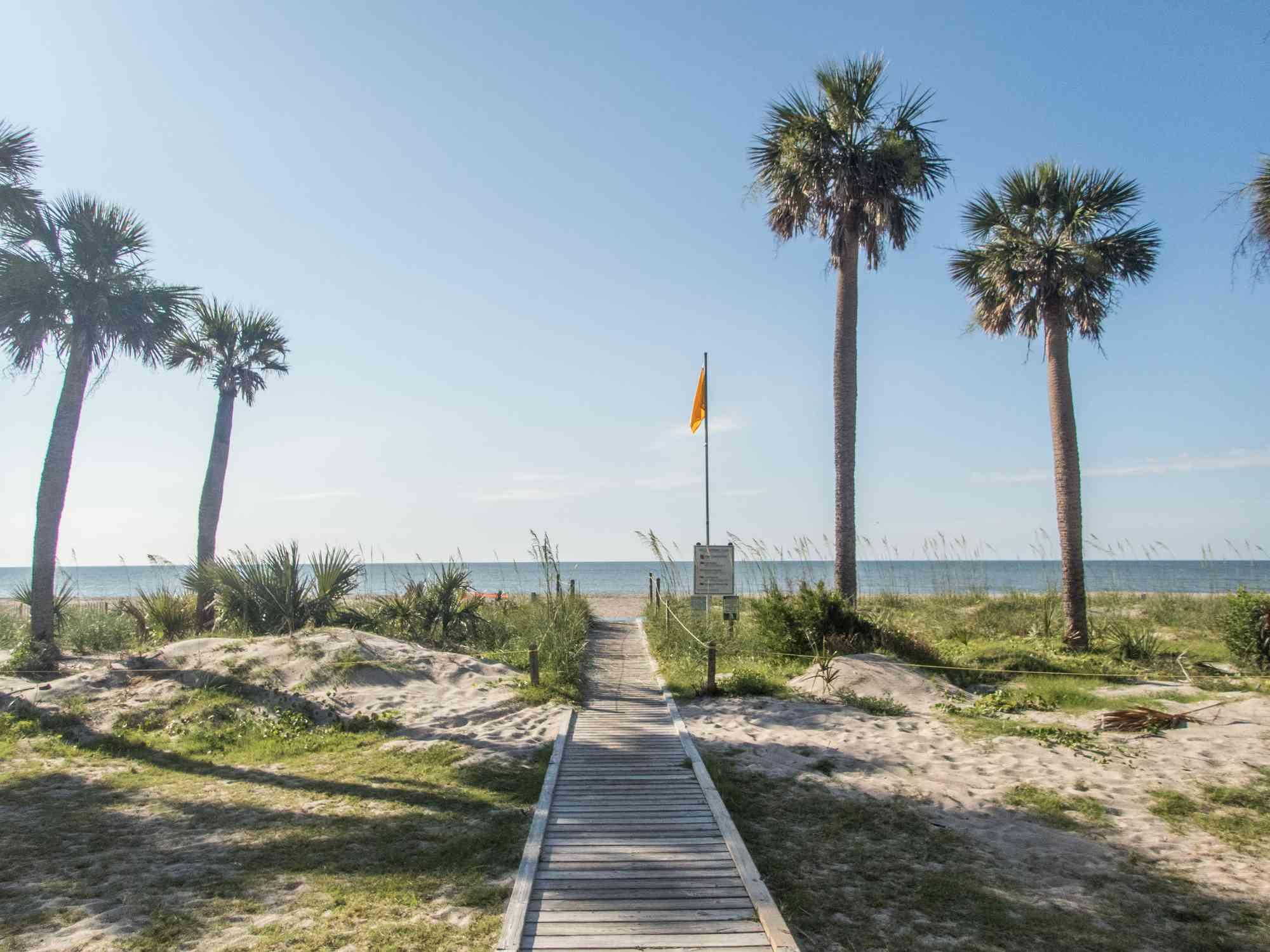 Boardwalk to Edisto Beach