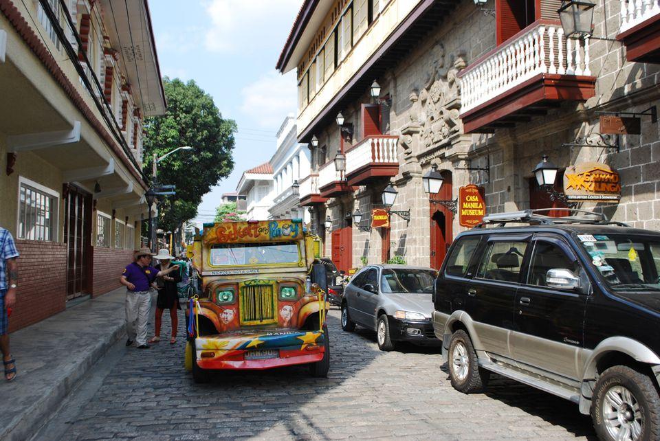 Exterior of Casa Manila, Intramuros, Manila