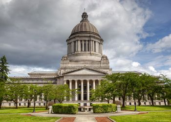 Washington State Capitol or Legislative Building in Olympia is the home of the government of the state of Washington.