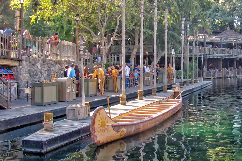 Boarding Area for Davy Crockett Explorer Canoes