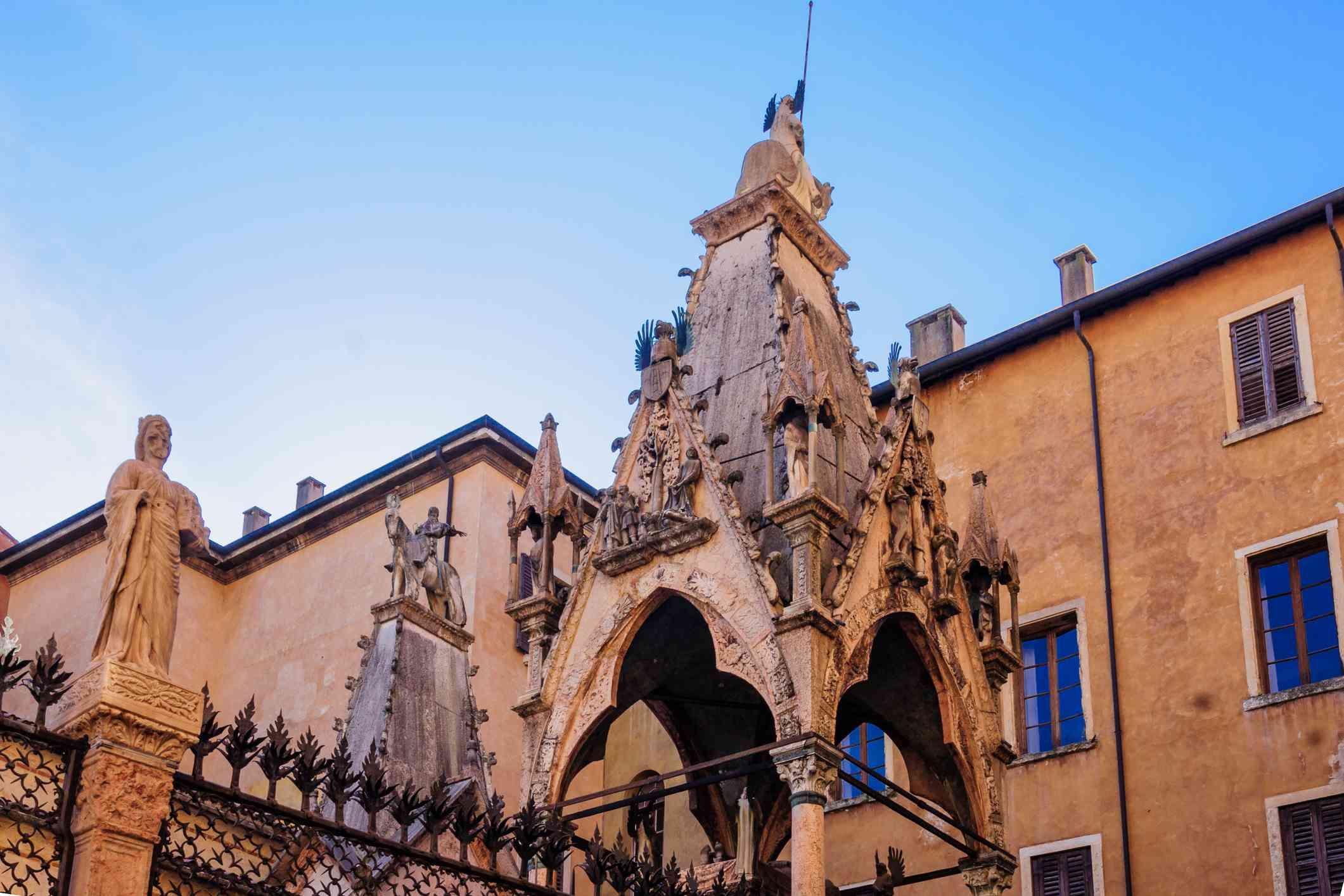 The Scaliger Tombs, Verona