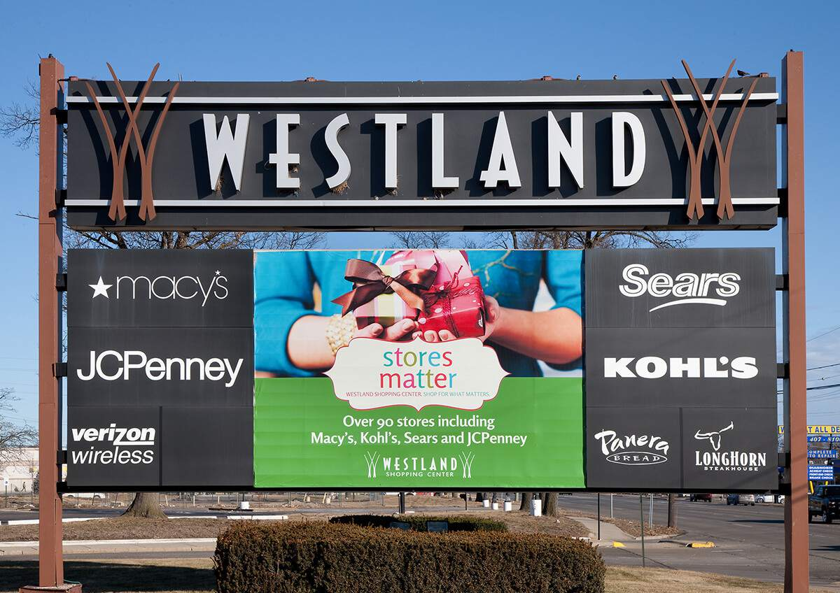 List Of Metro Detroit Shopping Malls And Centers