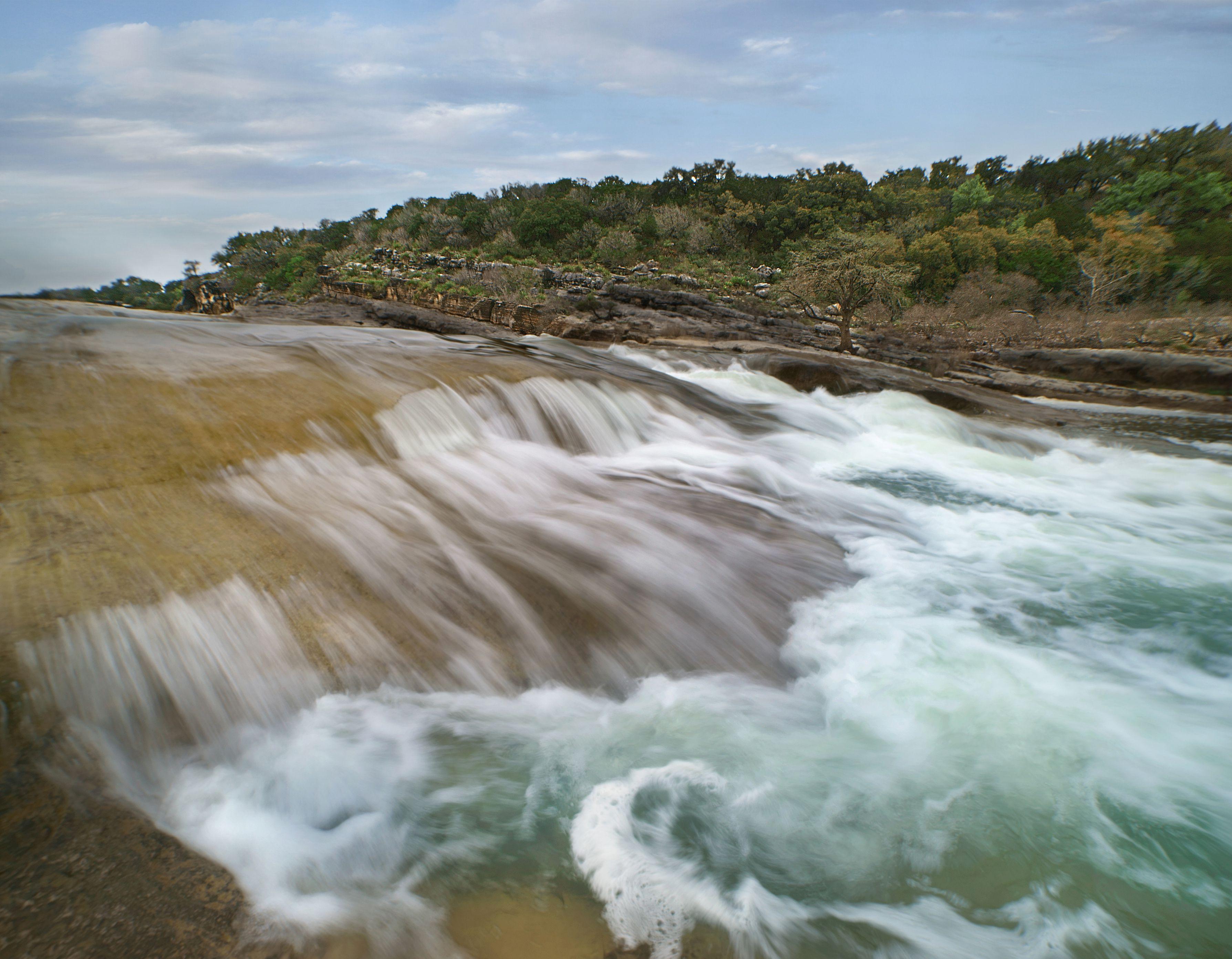 Pedernales Falls, Pedernales Falls State Park, Texas, EE. UU.
