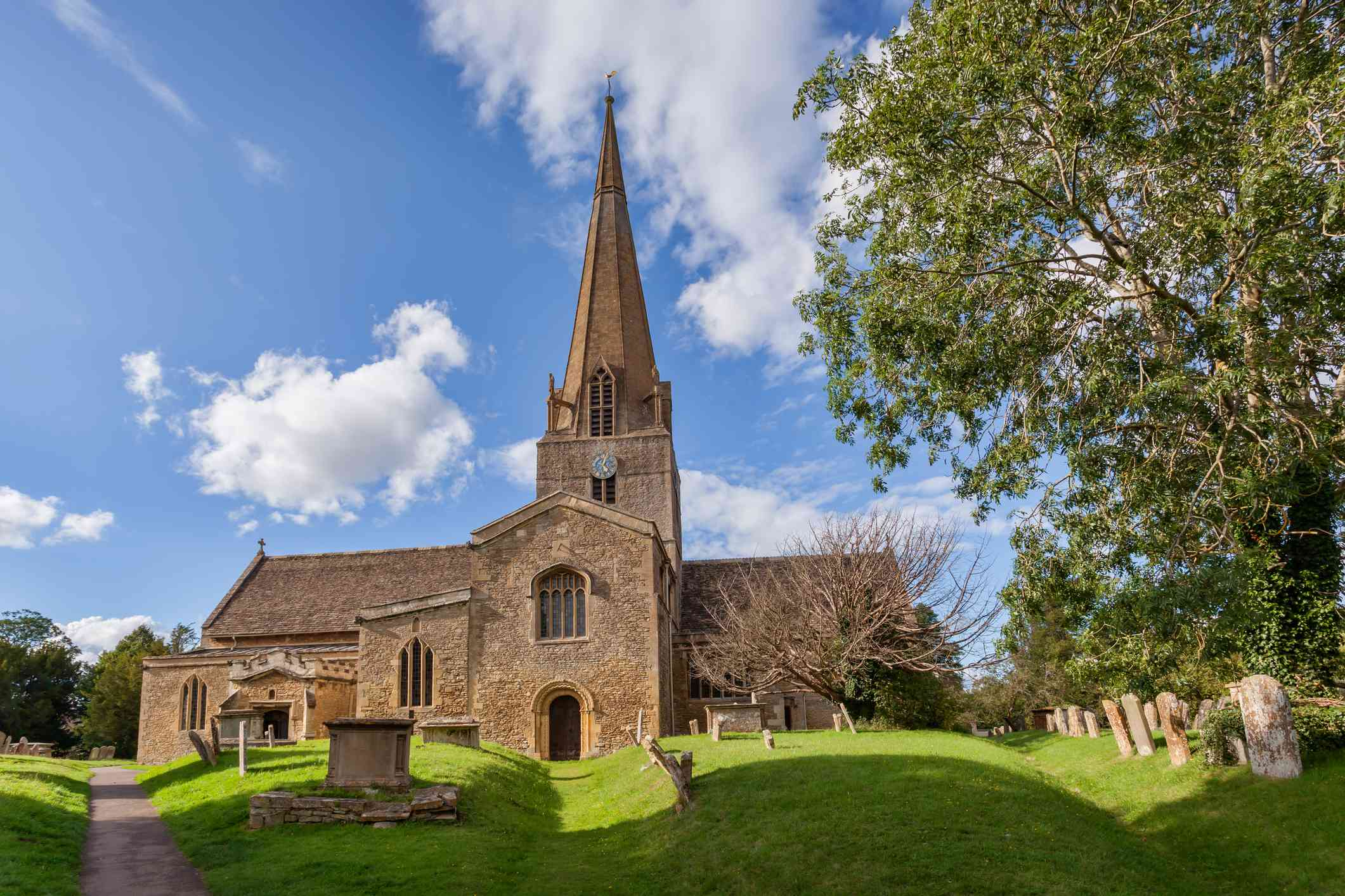 St Mary's Church in Bampton, Oxfordshire, England