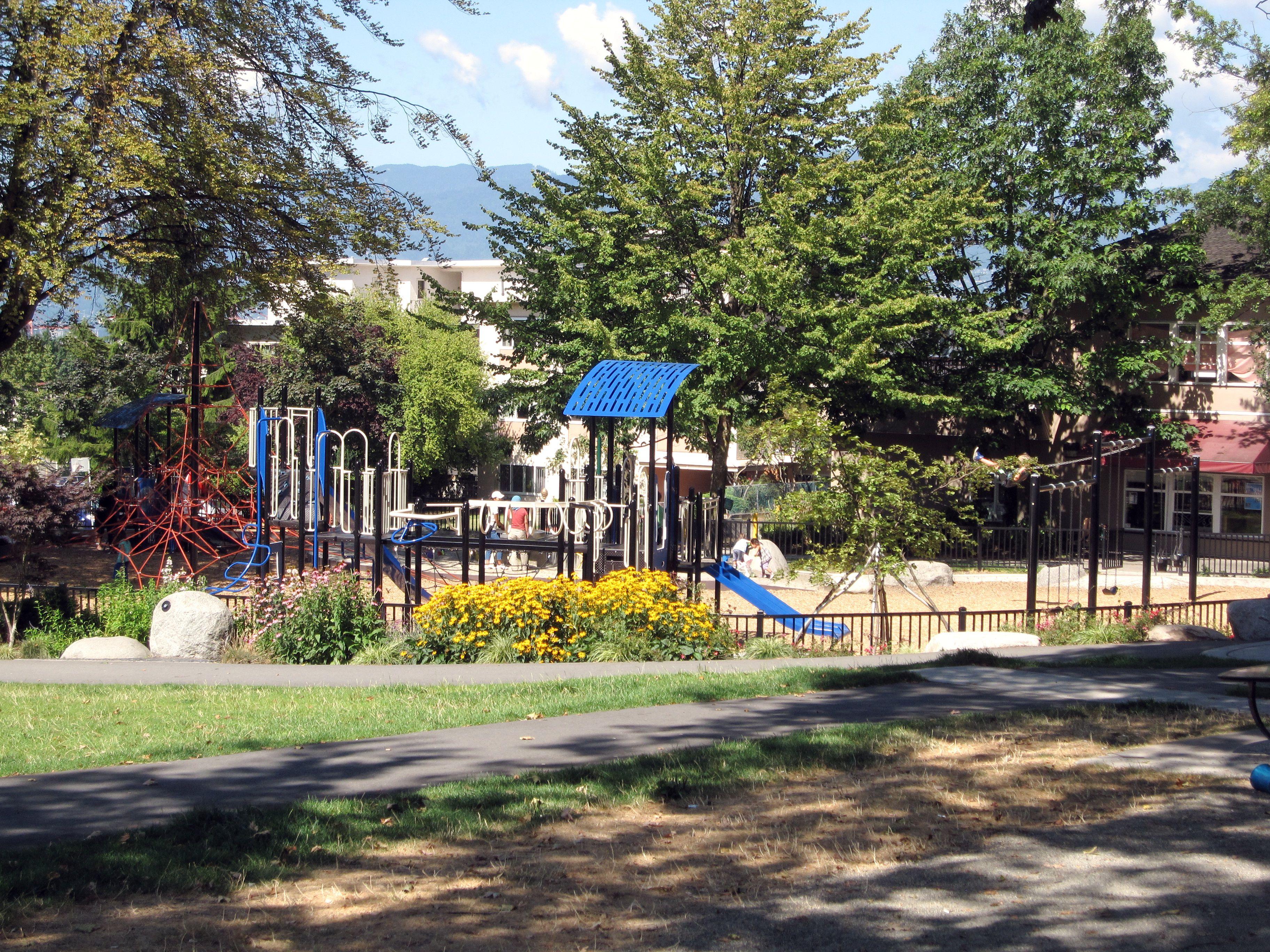 Grandview Park on Commercial Drive Vancouver