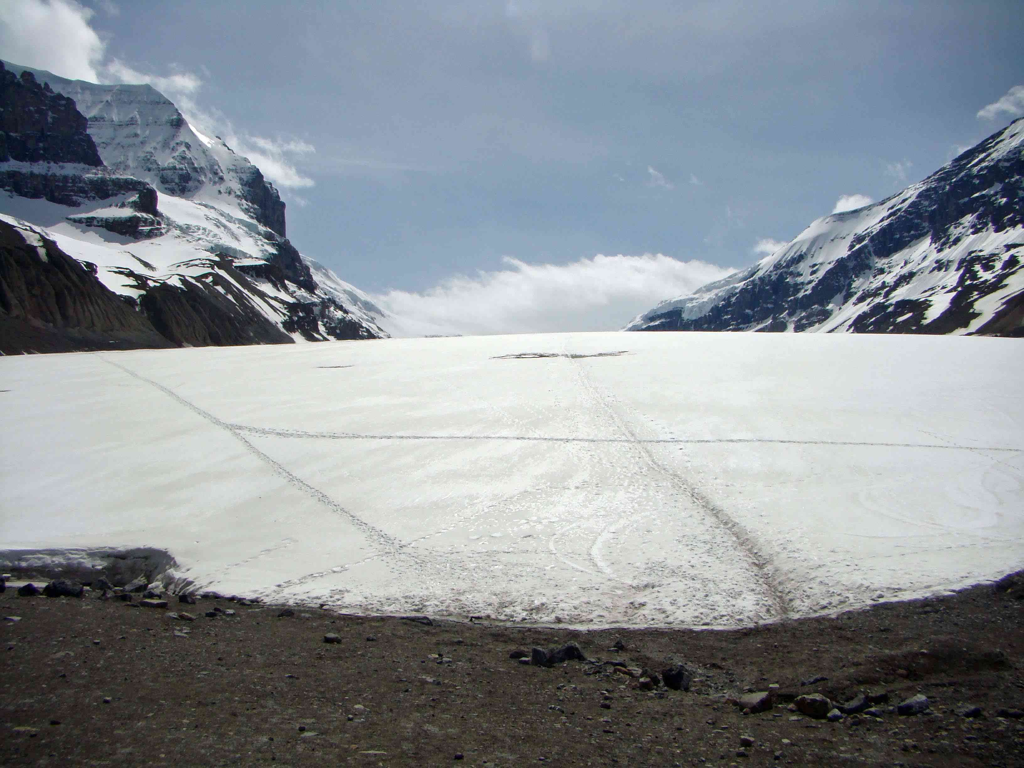 Athabasca Glacier, Jasper National Park