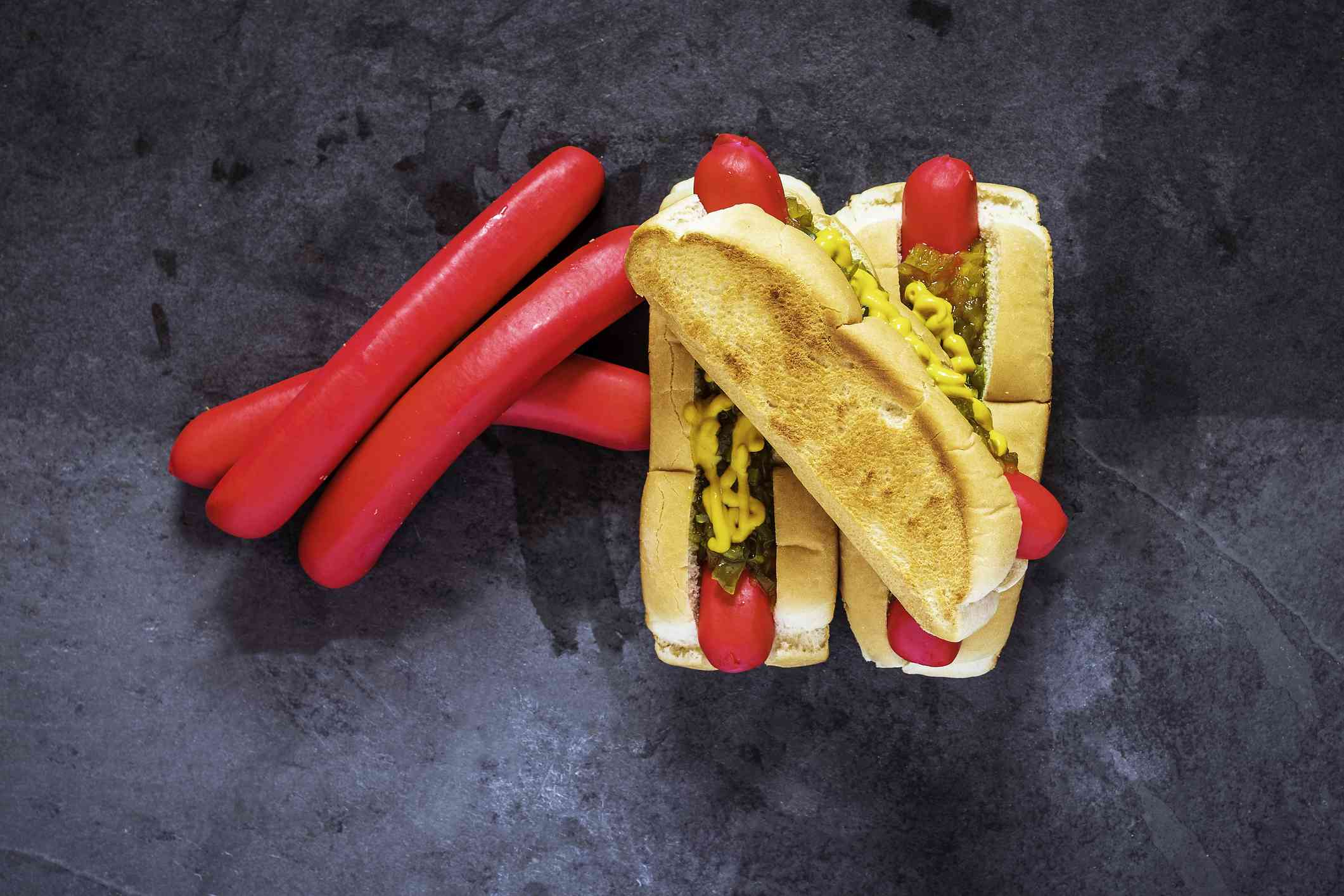 Maine Red Snapper Hotdogs