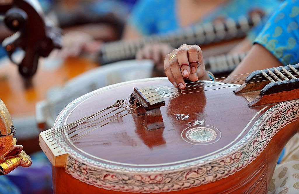 Indian classical music.