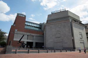 Exterior of the Holocaust Memorial