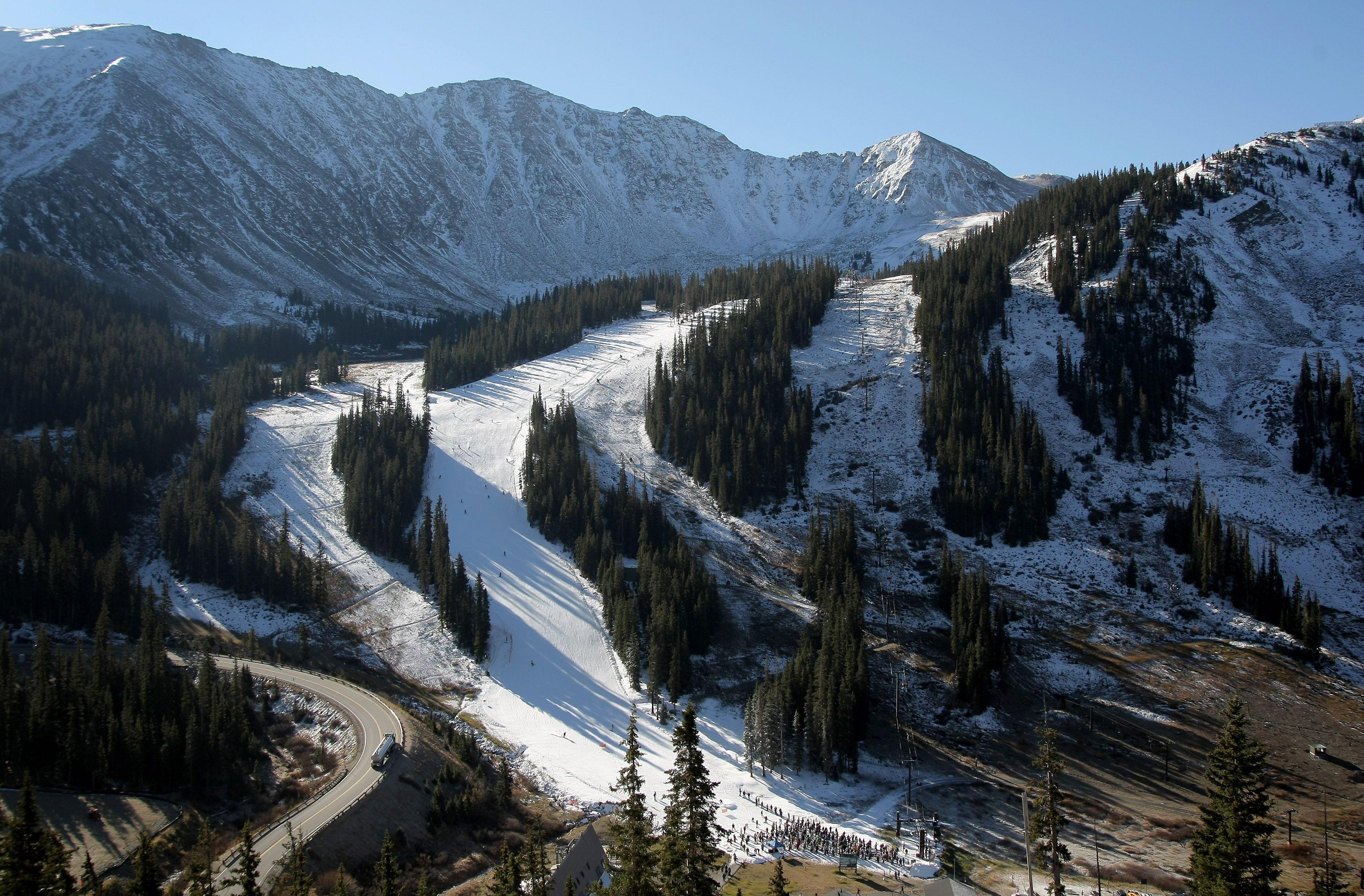 Loveland Ski Area in Colorado