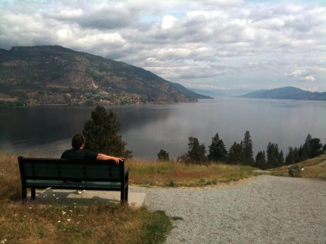 A hike to the top of Knox Mountain in Kelowna BC is a great way to start the day.