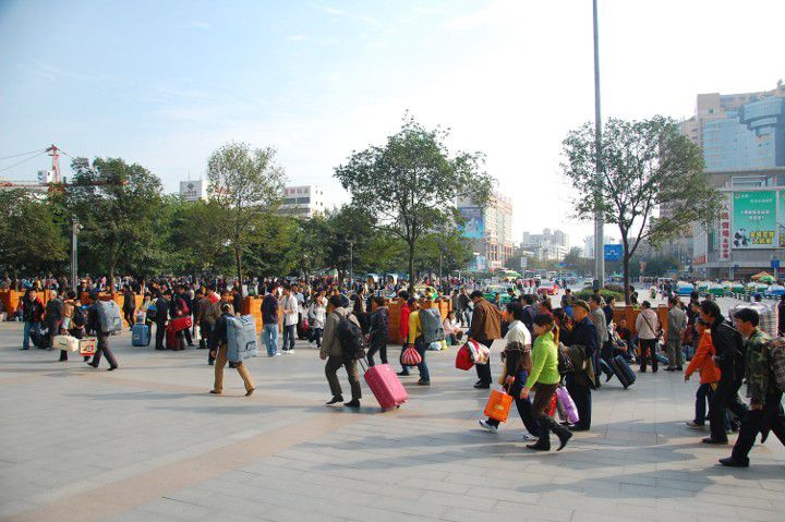 Crowd in China