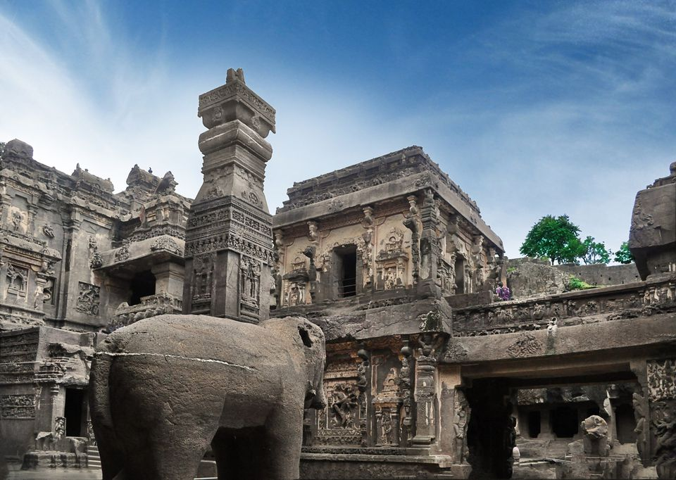 Kailash Temple at Ellora