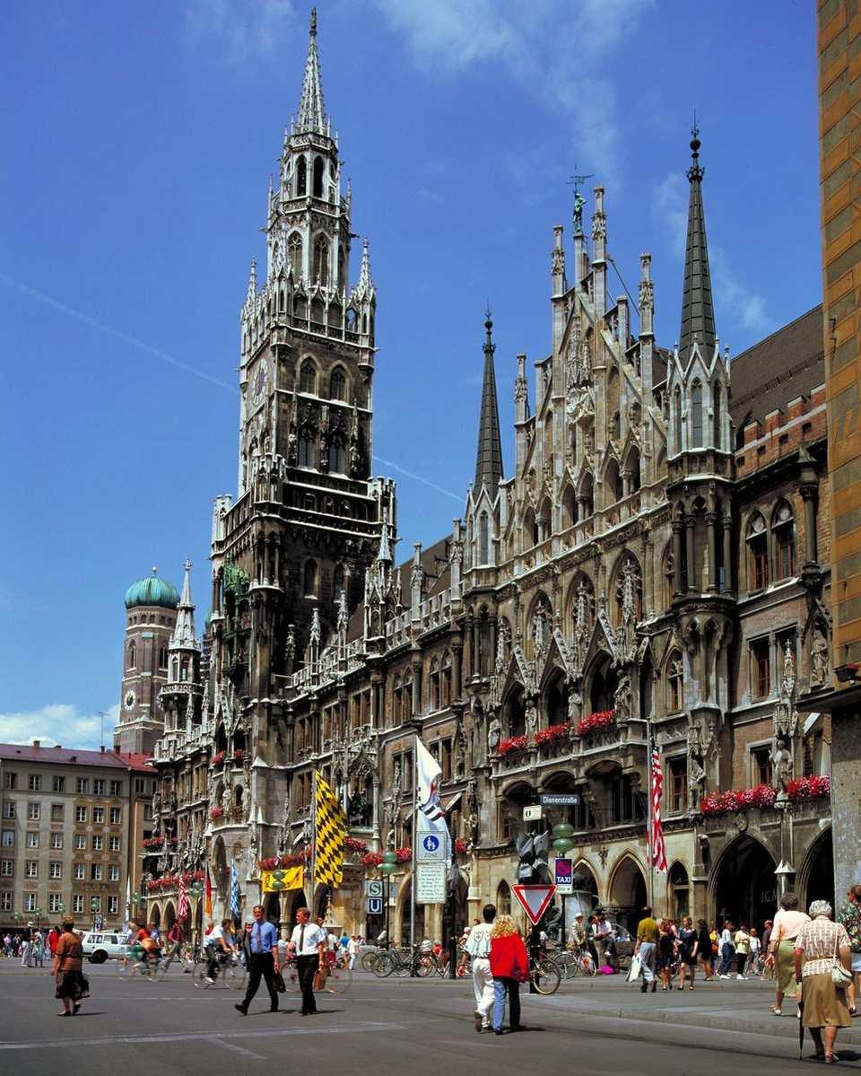 Munich's Marienplatz