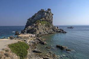 Mamma Mia Agios Ioannis church , Skopelos Island