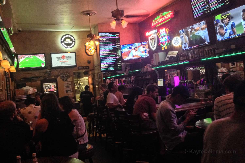 Quinn's Sports Bar in Belmont Shore