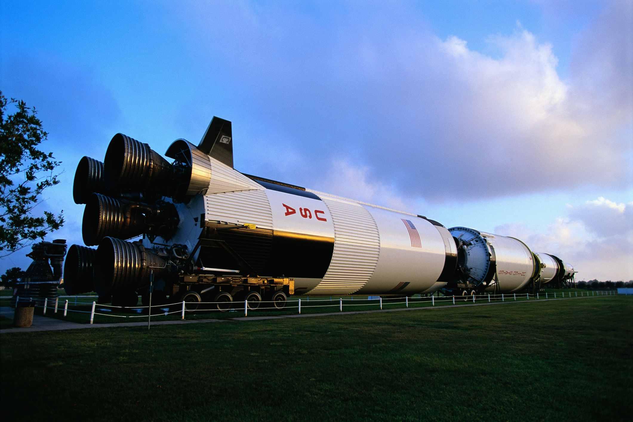 Saturn V Rocket at Johnson Space Center